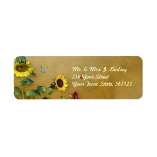 Sunflower Garden 1 Label