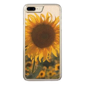 Sunflower garden.Beautiful flowers Carved iPhone 7 Plus Case