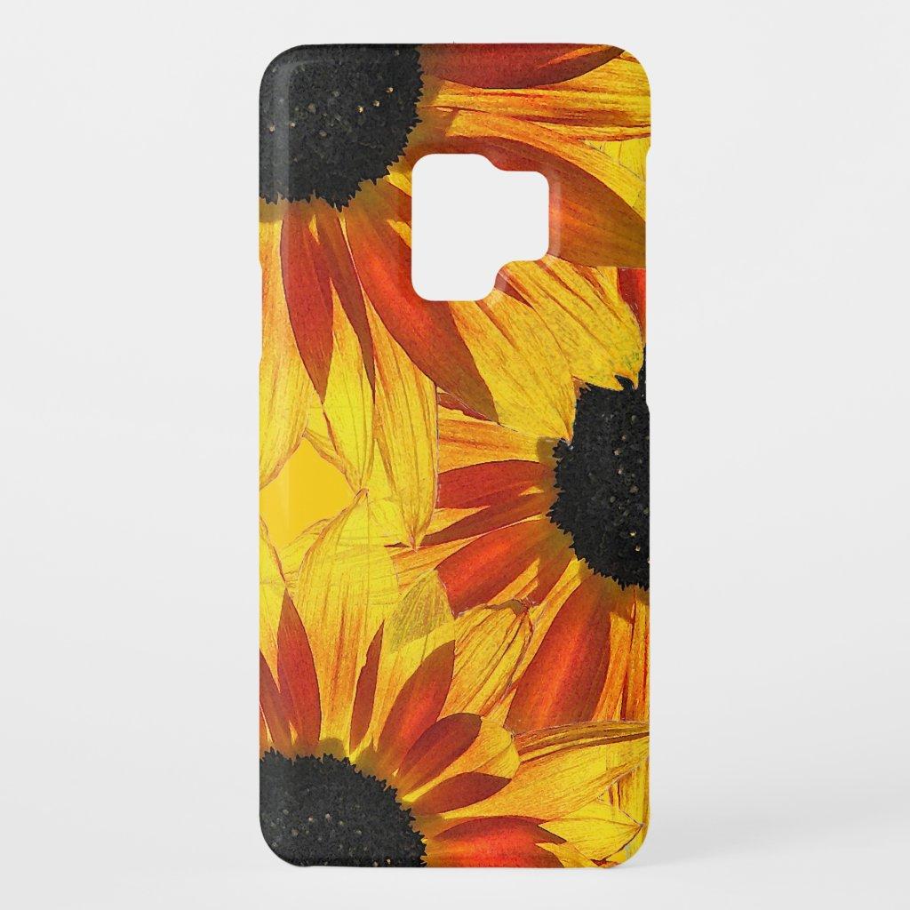 Sunflower Garden Flowers Floral Galaxy S9 Case