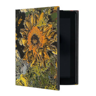 Sunflower Garden in Polished Stone Do-Do Case iPad Covers