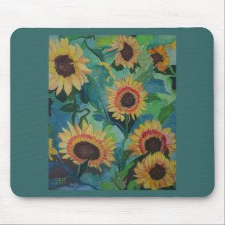 Sunflower Garden Mousepad