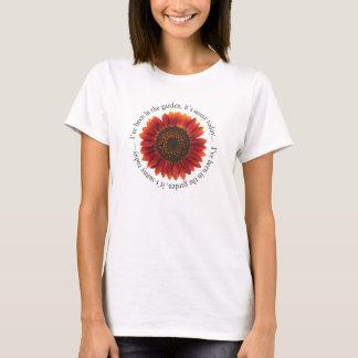 Sunflower & Garden Post T-Shirt