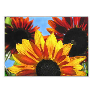 Sunflower Garden Summer Solstice Party Invitation