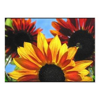 Sunflower Garden Summer Solstice Party Invitation
