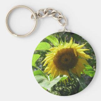 Sunflower Gardening Keychain