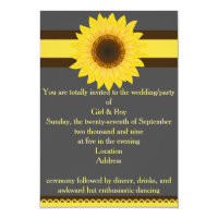 Sunflower General Invitation