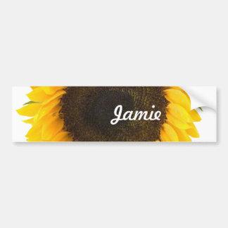 Sunflower Gifts Bumper Sticker