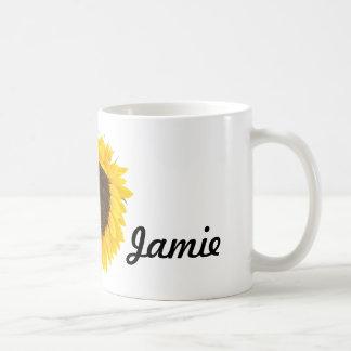 Sunflower Gifts Classic White Coffee Mug