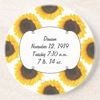 Sunflower Gifts Coaster
