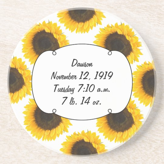 Sunflower Gifts Coaster