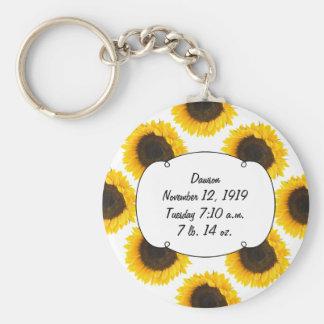 Sunflower Gifts Keychain
