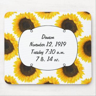 Sunflower Gifts Mouse Pad