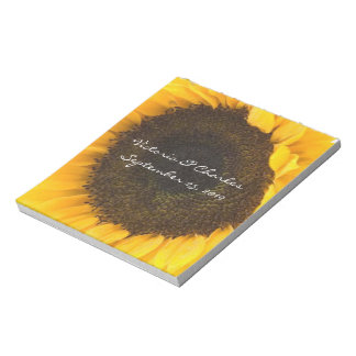 Sunflower Gifts Notepad