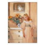 Sunflower Girl 1893 Card