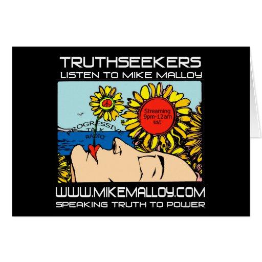 SUNFLOWER GIRL TRUTHSEEKER CARD
