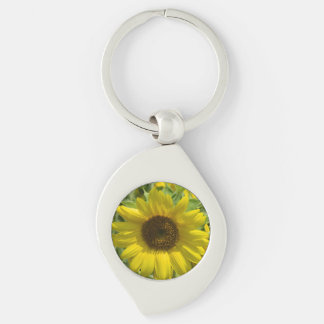 Sunflower Glory Keychain