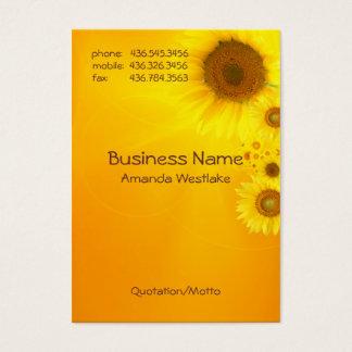 Sunflower Glow Business Card