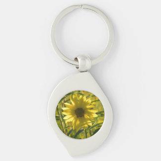 Sunflower Glow Keychain