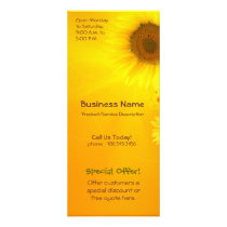 Sunflower Glow Rack Card