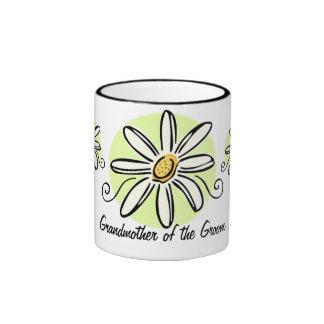 Sunflower Grandmother of Groom Mug