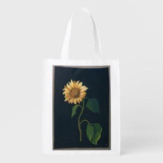 Sunflower Grocery Bag