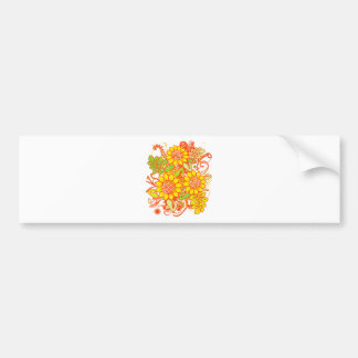Sunflower_Growth Bumper Sticker