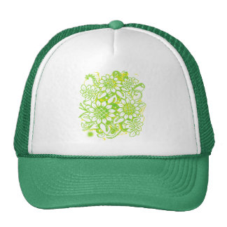 Sunflower_Growth Gorros Bordados
