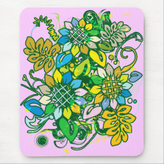 Sunflower_Growth Mouse Pad