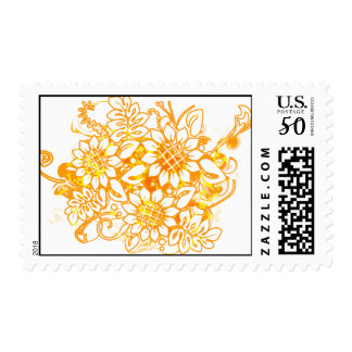 Sunflower_Growth Postage