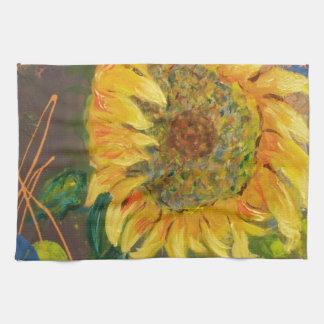 sunflower hand towels