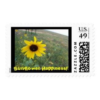 Sunflower Happiness! Postage