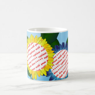 Sunflower Happy Mother's Day Photo Frame Mugs