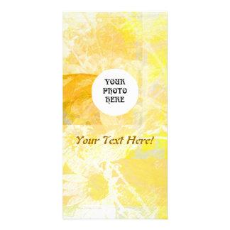 Sunflower Harmonies Photo Card