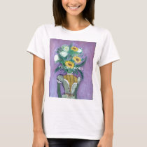 SUNFLOWER HEAD TSHIRT