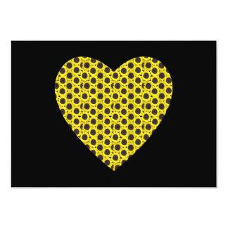 Sunflower Heart Card