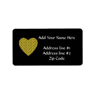 Sunflower Heart Label