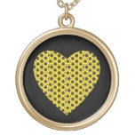 Sunflower Heart Necklace