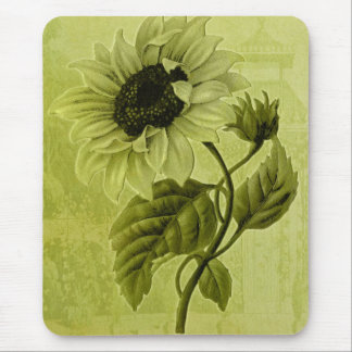 Sunflower Helianthus Mouse Pad