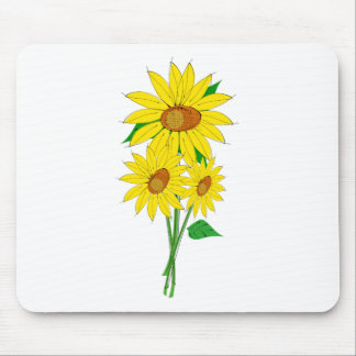 Sunflower/Helianthus Mouse Pad