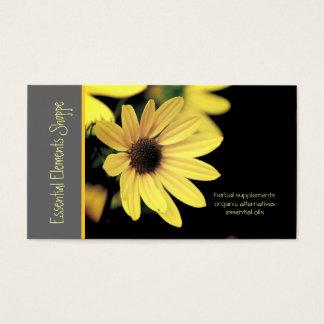 Sunflower Herbalist Business Card