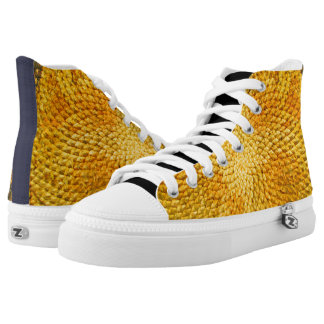 Sunflower High-Top Sneakers