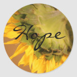 Sunflower, Hope stickers