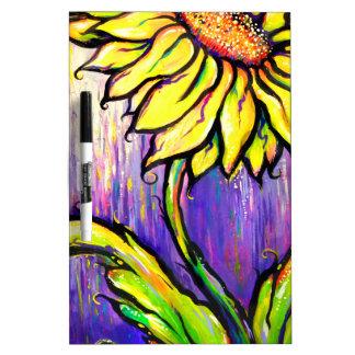Sunflower I Dry-Erase Board