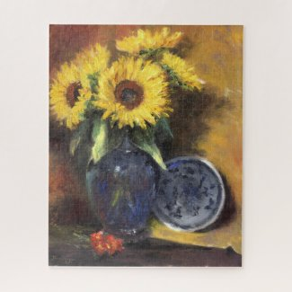 Sunflower II Jigsaw Puzzle