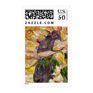 Sunflower II postage stamp