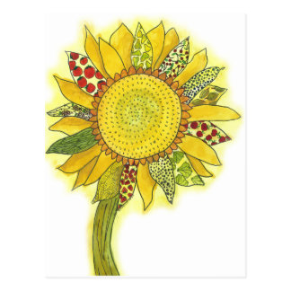 Sunflower II Postcard