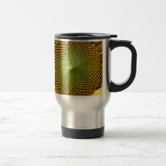 Sunflower Image Travel Mug