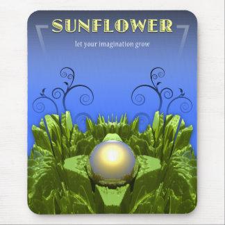 Sunflower Imagination Mouse Pad