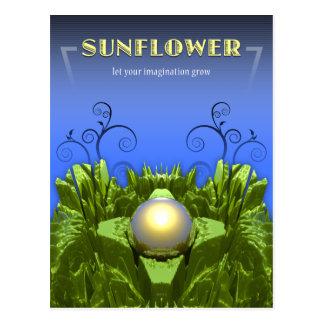 Sunflower Imagination Postcard