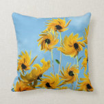 Sunflower Impressions Accent Throw Pillow
